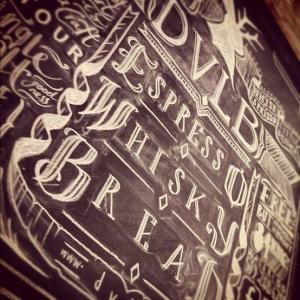 DVLB chalk board