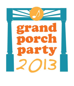 Grand porch party logo