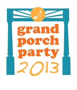 Grand porch party logo