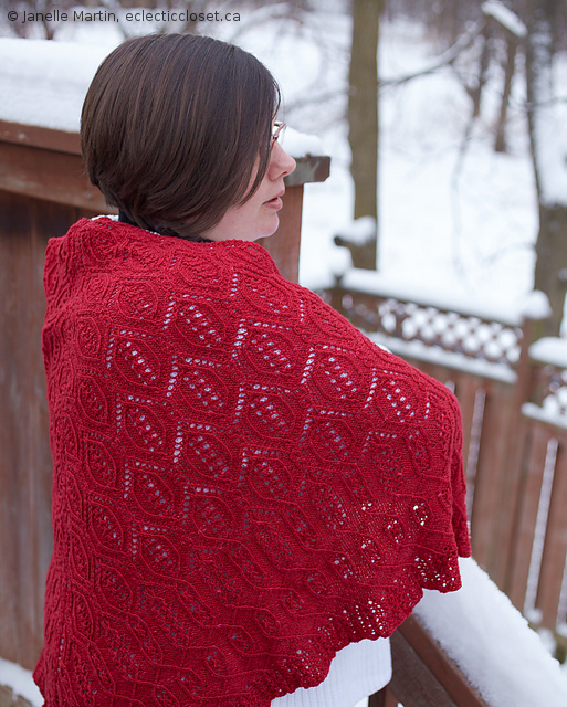 Knitting Lessons Near Me : Knitting red leather booth