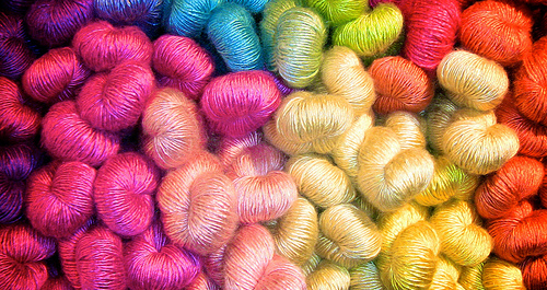 colour yarns