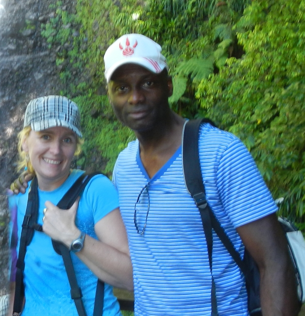 Melissa Kristensen and Andre Smith, artists