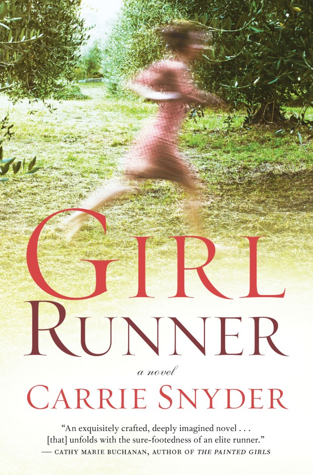 Book cover of Girl Runner by Carrie Snyder