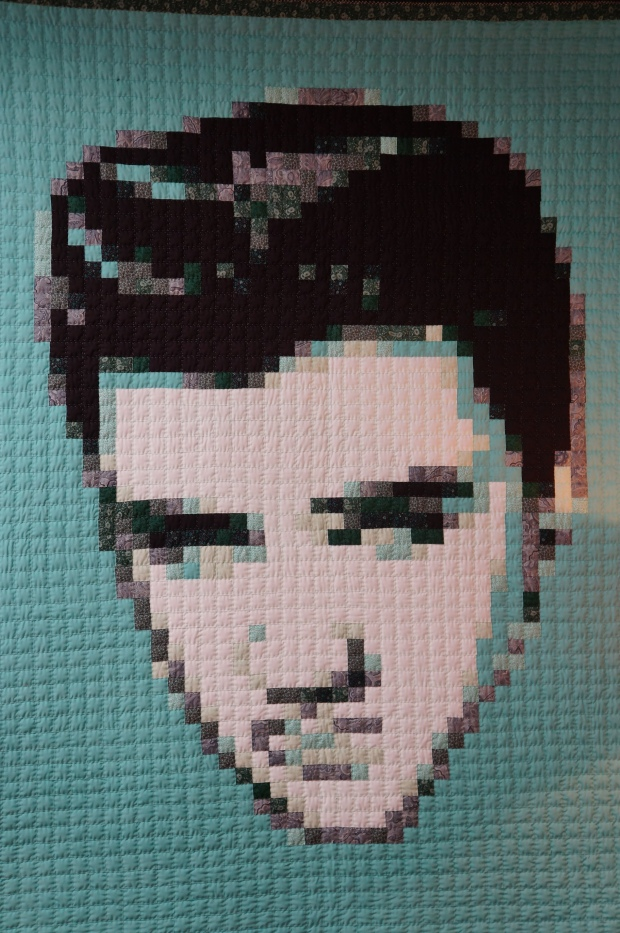 Quilted Elvis Presley