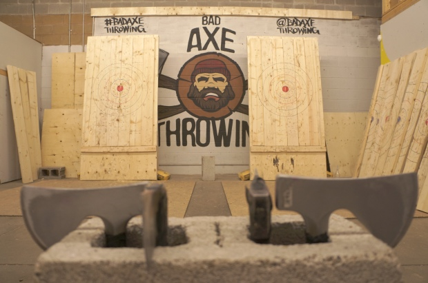 Axe-throwing targets