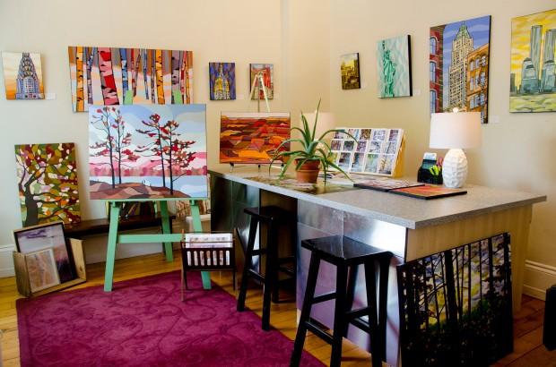 micro art gallery