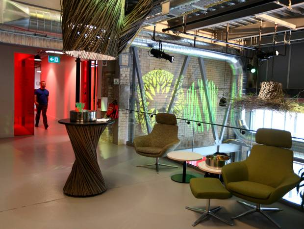 inside google canada office